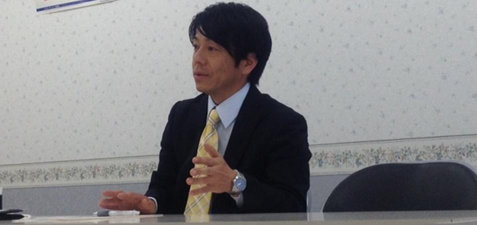 経営企画部長の高橋和正氏