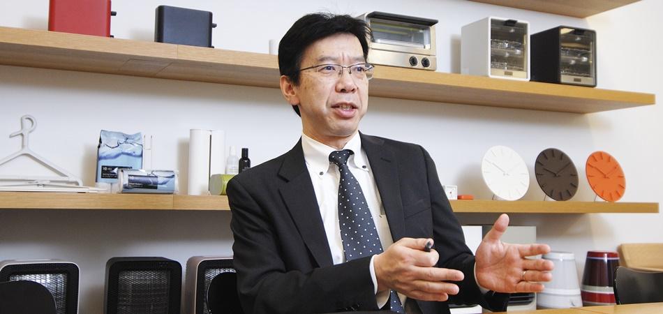 取締役事業管理部長 上原淳 氏