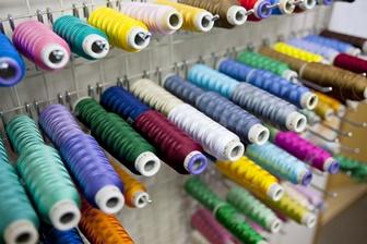 名入れ加工用の刺繍糸