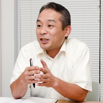 営業部 CS課 課長の渋谷誠氏