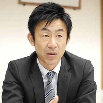 取締役営業統括本部長加藤雅和氏
