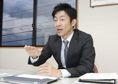 取締役 営業統括本部長加藤雅和氏