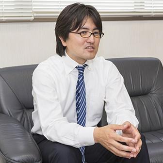 取締役営業部長高橋亮氏