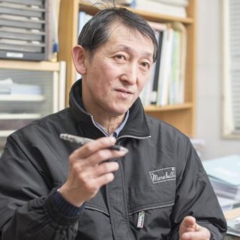 業務部担当主任の山口宏氏