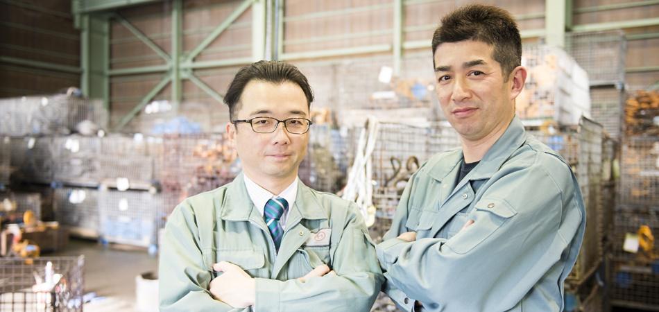 堀内常務と齊藤テクノセンター長
