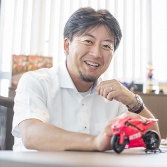 笑顔で対応して頂いた木嶋氏